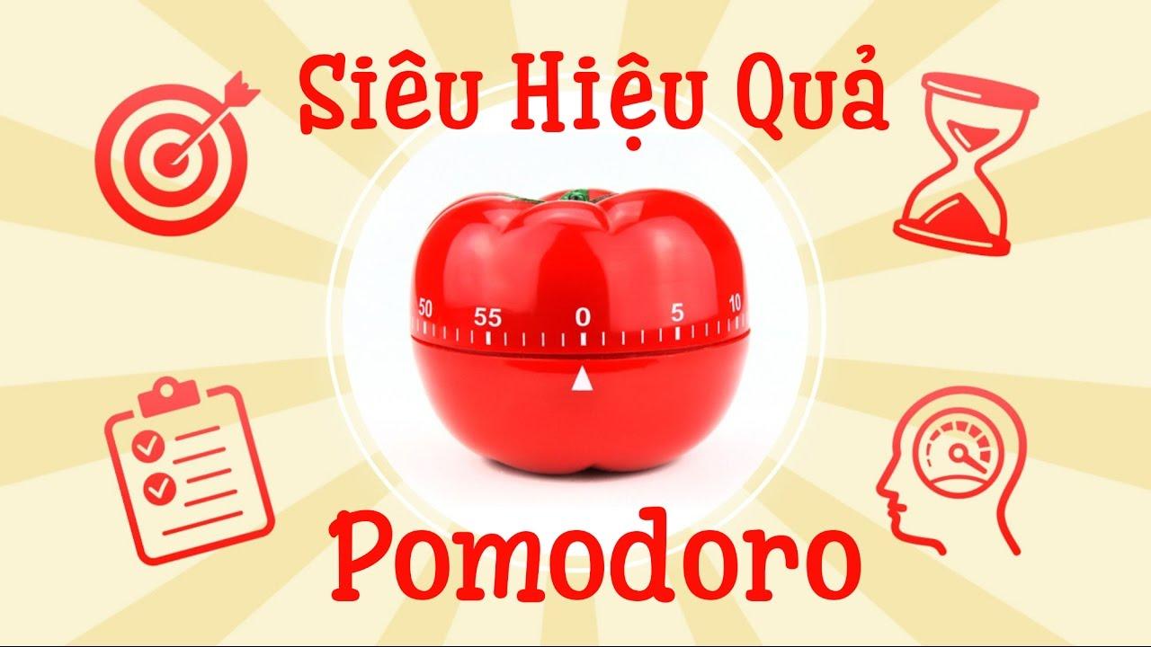 Phương pháp pomodoro làm việc hiệu quả